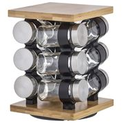 Davis & Waddell - Romano Spice Jar Set with Rack 13pce