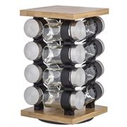 Davis & Waddell - Romano Spice Jar Set with Rack 17pce