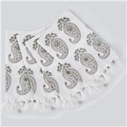 Cloth & Co - Paisley Napkin Set Fern 4pce