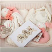 Maud N Lil - Luxury Organic Gift Set Pink 6pce