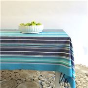 Carnival - Stripe Tablecloth Marine 150x250cm