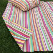 Carnival - Stripe Picnic Mat Multi