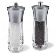 Cole & Mason - Exford Nickel Salt & Pepper Mill Set 2pce