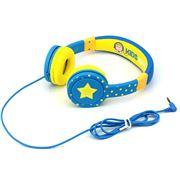 Cactus - Kids Headphones Blue/Yellow Stars