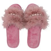 AT - Glam Slide Slippers Pink Medium/Large