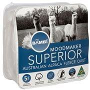 Bambi - Moodmaker 430gsm Superior Alpaca Fleece Quilt Queen