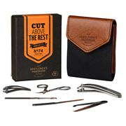 Gentleman's Hardware - Manicure Set Charcoal