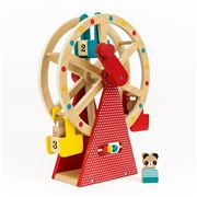 Petitcollage - Carnival Wooden Ferris Wheel Playset