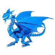 Metal Earth - ICONX Blue Dragon Model