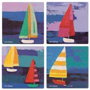 Thirstystone - Occasions Sailing Coaster Set 4pce