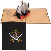 Colorpop - Pirate Ship Card Large