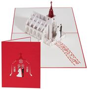 Colorpop - Wedding Chapel Greeting Card