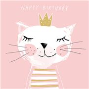 Paper Products Design - Happy Birthday Princess Napkin 20pce