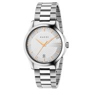 Gucci - Gucci-G Timeless Stainless Steel Watch 38mm