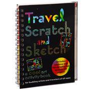 Peter Pauper Press - Travel Scratch & Sketch Activity Book