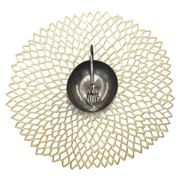 Chilewich - Dahlia Placemat Champagne