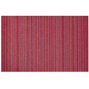 Chilewich - Skinny Stripe Indoor/Outdoor Mat Raspb. 61x91cm