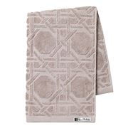 Florence Broadhurst - Octagonal Lattice Hand Towel Pebble
