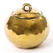 Seletti - Fingers Golden Lidded Sugar Pot