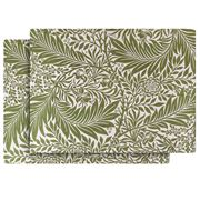 Ary Home - Larkspur Placemat Set Green 2pce
