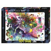 Heye - Free Colours Meow Jigsaw 1000pce
