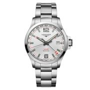 Longines - Conquest V.H.P GMT Stainless Steel Watch 43mm