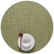 Chilewich - Mini Basketweave Round Placemat Dill
