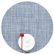 Chilewich - Mini Basketweave Round Placemat Chambray