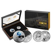 RA Mint - 50th Anniversary of the Moon Landing Two Coin Set