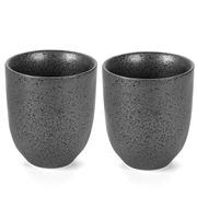 Robert Gordon - Earth Latte Cup Set Black 2pce