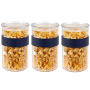 Bodum - Presso Storage Jar Set Sea 1L 3pce