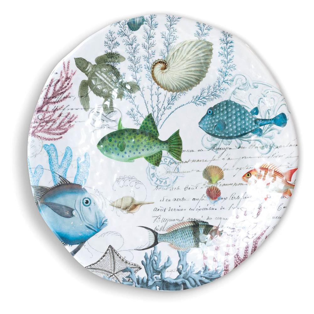 Michel Design Sea Life Melamine Platter Large Peter S Of Kensington