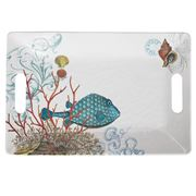 Michel Design - Sea Life Melamine Tray Medium