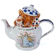 The Teapottery - Alice In Wonderland Dormouse Teapot