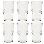 Retro Kitchen - Glass Tumbler Set Clear 6pce