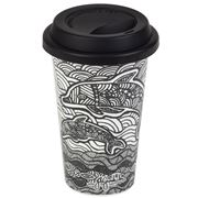 Ashdene - Mother & Baby Dolphin Travel Mug