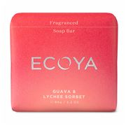 Ecoya - Fragranced Soap Bar Guava & Lychee Sorbet 90g