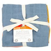Full Circle - Kind Plant-Dyed Dish Cloths Set 3pce