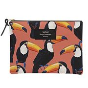 Wouf - Large Pouch Toco Toucan