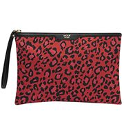 Wouf - Night Clutch Red Leopard
