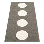 Pappelina - Vera Rug Charcoal 70x150cm