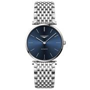 Longines - La Grande Classique Blue Dial S/Steel Watch 36mm