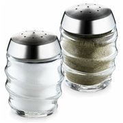 Cole & Mason - Bray Glass Salt & Pepper Shaker Set 2pce