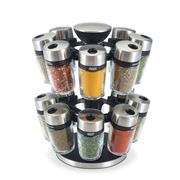 Cole & Mason - Herb & Spice Carousel 16 Jars Set