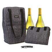 Packit - Freezable Double Wine Bag Sophie Zig Zag