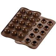 Silikomart - Tartufino Silicone Mould Brown