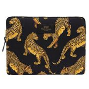 Wouf - iPad Sleeve Black Leopard