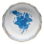 Herend - Chinese Bouquet Blue AB Small Round Dish