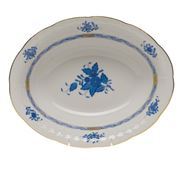 Herend - Chinese Bouquet Blue AB Oval Vegetable Dish