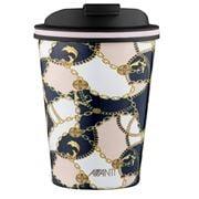 Avanti - Go Cup Baroque Navy/Pink 280ml